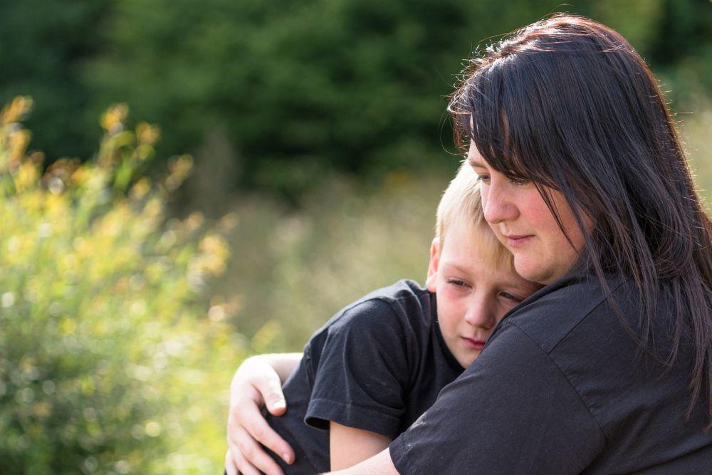 Die Trauer ist vor allem bei Kindern sehr groß wenn der Hund stirbt
